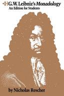 G.W. Leibniz's Monadology