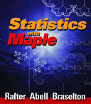 Statistics with Maple