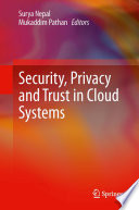 Security Privacy And Trust In Cloud Systems Book PDF