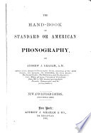 The Hand book of Standard Or American Phonography Book PDF