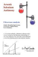Arsenic  Selenium  Antimony Ultra Trace Analysis