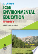 S.Chand'S ICSE Environment Education Class X