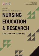Proceedings of 27th Edition of World Congress on Nursing Education   Research 2018