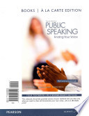 Public Speaking  : Finding Your Voice