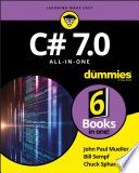 C  7 0 All in One For Dummies