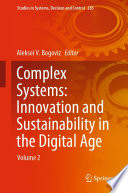 Complex Systems Innovation And Sustainability In The Digital Age