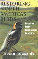 Restoring North America's Birds