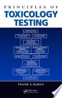Principles Of Toxicology Testing Book PDF