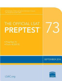 The Official LSAT Preptest 73   Sept  2014 LSAT