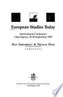 European Studies Today