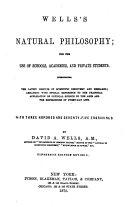 Wells s Natural Philosophy