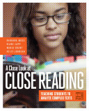 A Close Look at Close Reading
