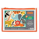 Zoo Animals Pouch Puzzle Book PDF