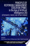 Principles of Responsible Management Education  PRME  in the Age of Artificial Intelligence  AI