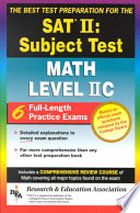The Best Test Preparation for the SAT II, Subject Test (achievement Test)  : Math Level IIC