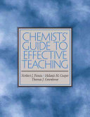 Chemists  Guide to Effective Teaching