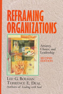 Reframing Organizations Book