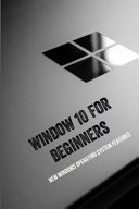Window 10 For Beginners