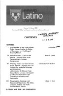 Harvard Latino Law Review