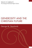 Pdf Generosity and the Christian Future