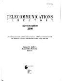 Telecommunications Directory 2000