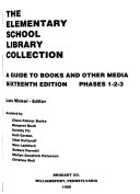 The Elementary School Library Collection, Phases 1-2-3