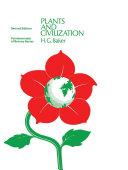 Plants and Civilization