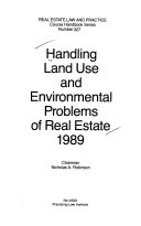 Handling Land Use And Environmental Problems Of Real Estate