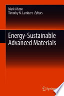 Energy Sustainable Advanced Materials Book
