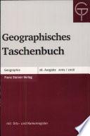 Geographisches Taschenbuch
