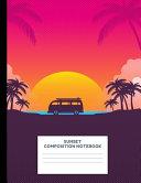 Sunset Composition Notebook