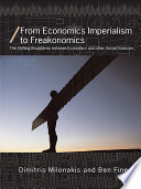 From Economics Imperialism to Freakonomics Book