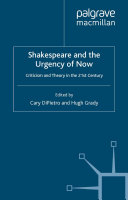 Shakespeare and the Urgency of Now Pdf/ePub eBook