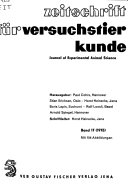 Journal Of Experimental Animal Science