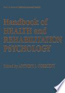 Handbook Of Health And Rehabilitation Psychology