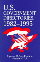 U S Government Directories 1982 1995