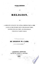 Gleanings of Religion