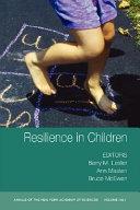 Resilience in Children  Volume 1094