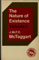 The Nature of Existence: Volume 1