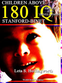 Children Above 180 IQ Stanford-Binet