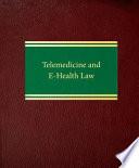 Telemedicine and E health Law