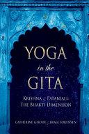 Yoga in the Gita