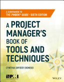 A Project Manager's Book of Tools and Techniques Pdf/ePub eBook