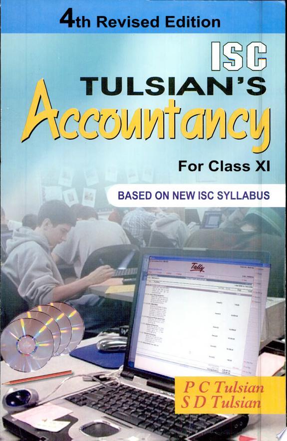 ISC TULSIAN'S Accoutancy for class XI