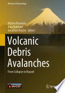 Volcanic Debris Avalanches