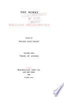 The Works Of William Shakespeare Timon Of Athens