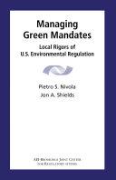 Managing Green Mandates Pdf/ePub eBook