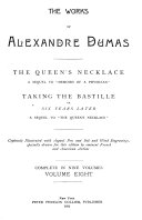 The Works of Alexandre Dumas  The queen s necklace  Taking the Bastille