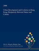 Urban Development and Evolution in Hong Kong