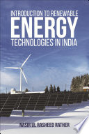 Introduction to Renewable Energy Technologies in India